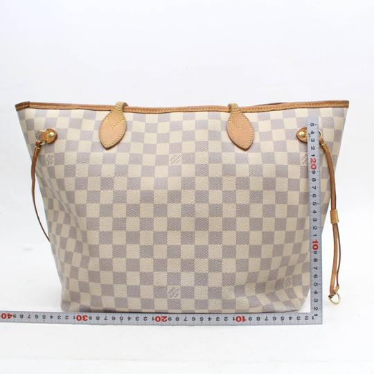 Louis Vuitton Neverfill Neverfold Neverfull Cream Neverfull Ivory Neverfull Tote in White Image 5