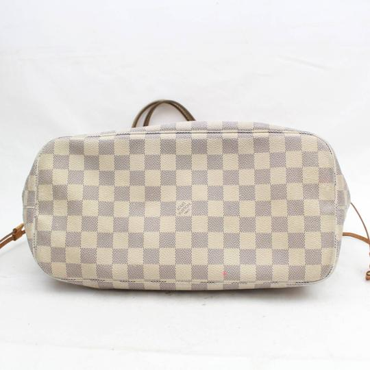 Louis Vuitton Neverfill Neverfold Neverfull Cream Neverfull Ivory Neverfull Tote in White Image 6