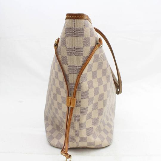 Louis Vuitton Neverfill Neverfold Neverfull Cream Neverfull Ivory Neverfull Tote in White Image 7