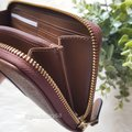 Coach COACH F54630 SIGNATURE COATED CANVAS WITH LEATHER ACCORDION ZIP WALLET Image 4