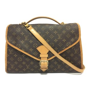 Louis Vuitton Beverly Belair Porte Voyage Documents Shoulder Bag