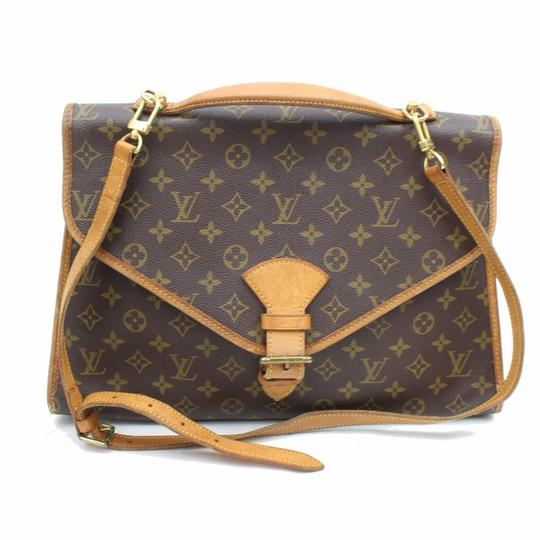 Louis Vuitton Beverly Belair Porte Voyage Documents Shoulder Bag Image 8