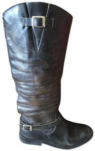 Golden Goose Deluxe Brand Leather Distressed Limited Edition Black Boots