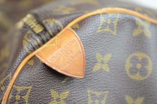 Louis Vuitton Keepall Monogram Tote in Brown Image 10
