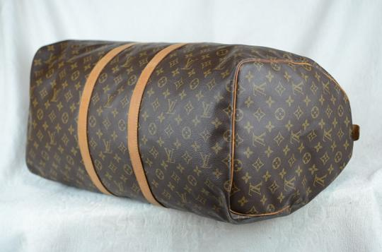 Louis Vuitton Keepall Monogram Tote in Brown Image 2
