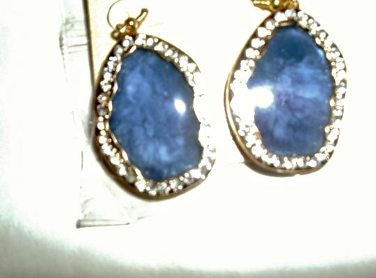 unbranded Several colors flat shell oval surrounded by rhinestone diamonds Image 3
