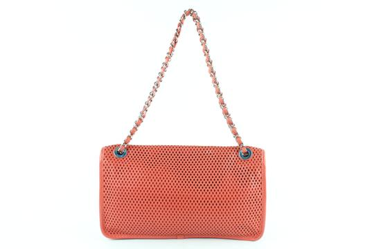 Chanel Perforated Classic Caviar Jumbo Medium Shoulder Bag Image 10