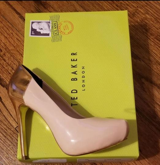 Ted Baker Pinkish Nude Pumps Image 1