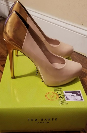 Ted Baker Pinkish Nude Pumps Image 2