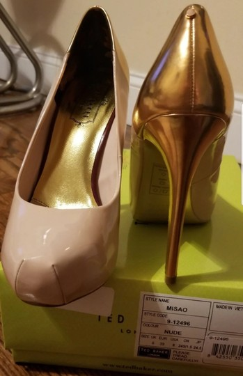 Ted Baker Pinkish Nude Pumps Image 6