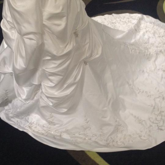 Bridal Exclusives White Polyester R6100 Formal Wedding Dress Size 10 (M) Image 6