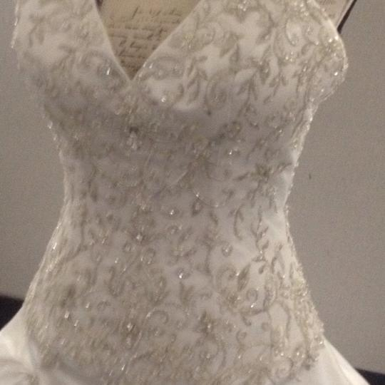 Bridal Exclusives White Polyester R6100 Formal Wedding Dress Size 10 (M) Image 7