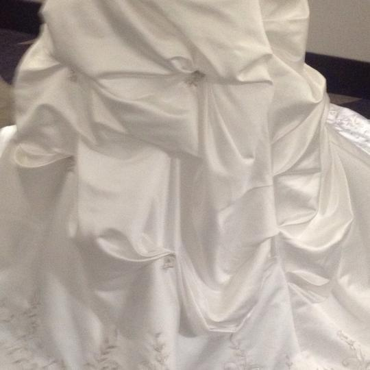Bridal Exclusives White Polyester R6100 Formal Wedding Dress Size 10 (M) Image 9