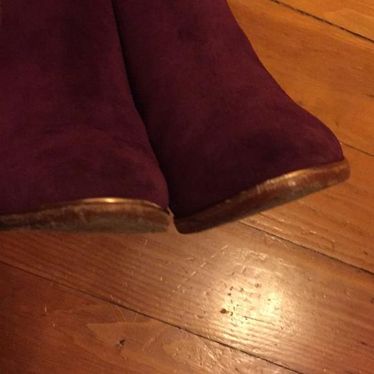 Ted Baker Purple Boots Image 4