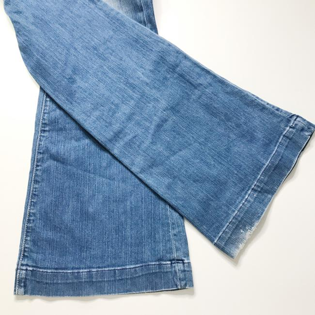 Fossil Fossiljeans Fossilclothes Fossilflarejeans Flarejeans Mediumwashflarejeans Flare Leg Jeans-Medium Wash Image 3