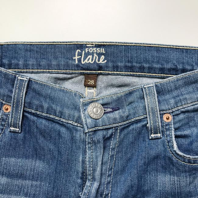 Fossil Fossiljeans Fossilclothes Fossilflarejeans Flarejeans Mediumwashflarejeans Flare Leg Jeans-Medium Wash Image 5