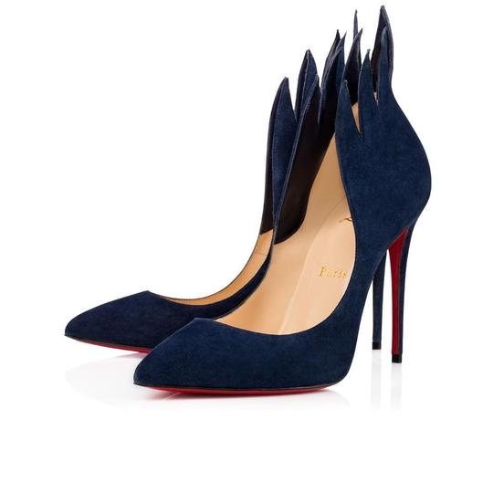 Preload https://img-static.tradesy.com/item/24635236/christian-louboutin-blue-suede-victorina-100-16cle0104-sandals-size-eu-37-approx-us-7-regular-m-b-0-1-540-540.jpg