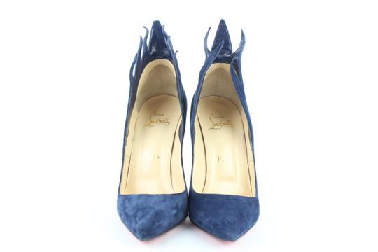 Christian Louboutin Victoria So Kate Pigalle Follies Flames blue Sandals Image 2