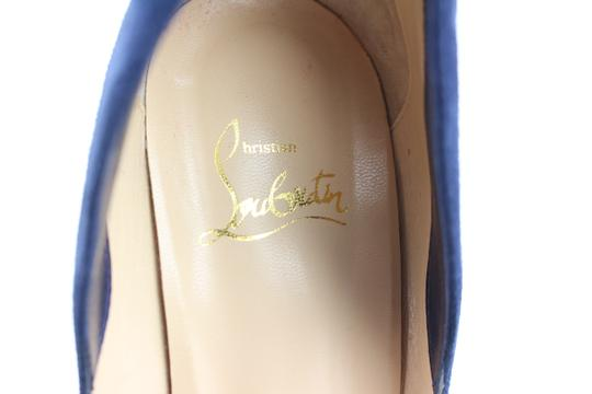 Christian Louboutin Victoria So Kate Pigalle Follies Flames blue Sandals Image 7
