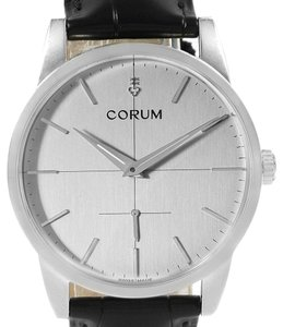 Corum Corum Heritage 38mm Silver Dial Steel Mens Watch V157/02614 Unworn