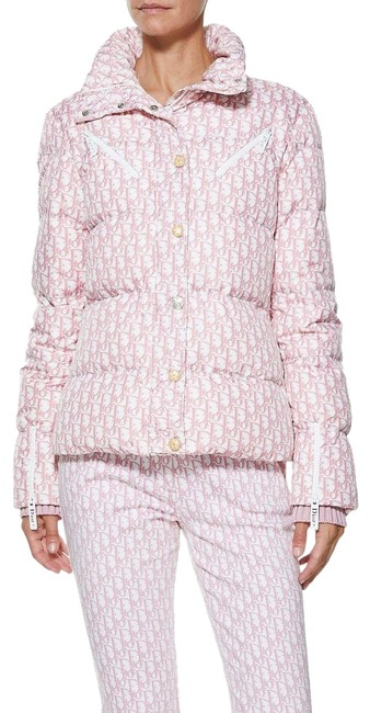 Preload https://img-static.tradesy.com/item/24635349/dior-pink-logomania-puffer-jacket-coat-size-4-s-0-3-650-650.jpg