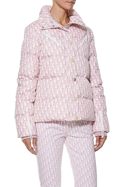 Dior Trotter Logomania Puffer Jacket Coat Image 3