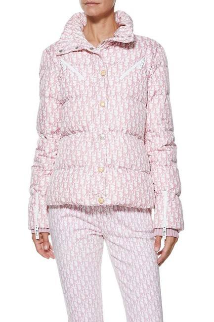 Dior Trotter Logomania Puffer Jacket Coat Image 4