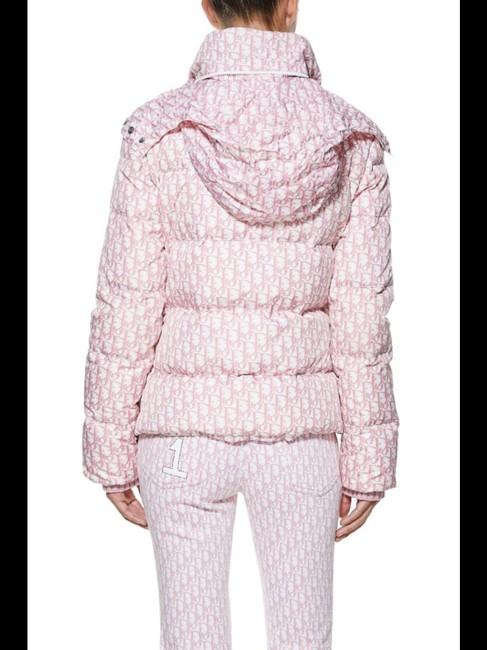 Dior Trotter Logomania Puffer Jacket Coat Image 9