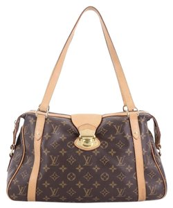 Louis Vuitton Stresa Canvas Shoulder Bag