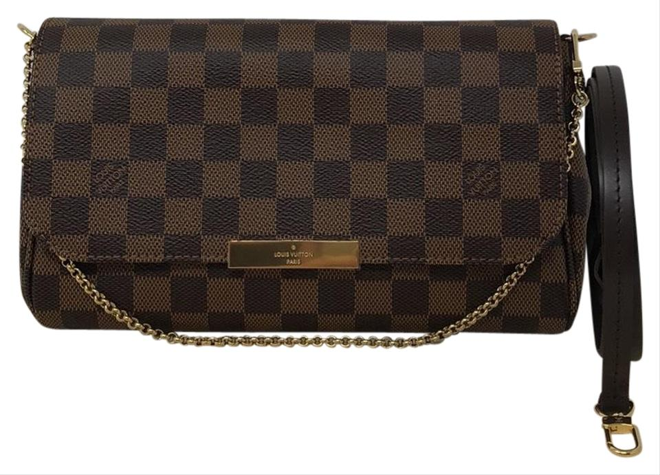 2adfc4b246c Favorite Mm Damier Ebene Coated Canvas Cross Body Bag
