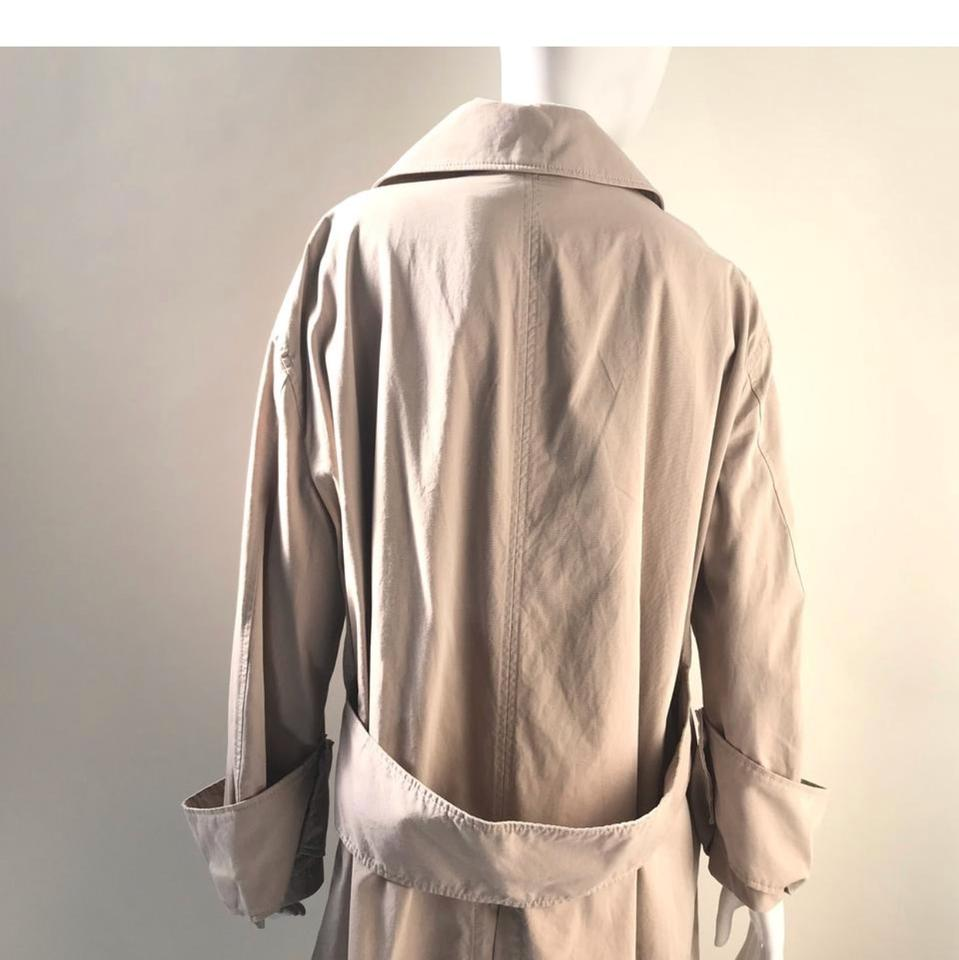 8bcf2a99b002 Burberry XS Women Unisex Mens Tropical Gabardine Car with Exaggerated Cuffs  Coat Size 2 (XS) 42% off retail