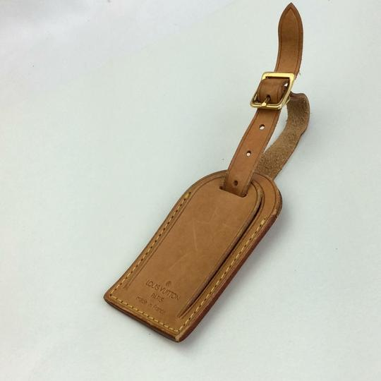 Louis Vuitton Alma Keepall Vachetta Luggage Name Tag Image 2
