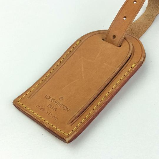 Louis Vuitton Alma Keepall Vachetta Luggage Name Tag Image 3