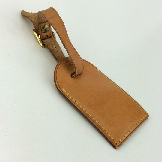 Louis Vuitton Alma Keepall Vachetta Luggage Name Tag Image 6