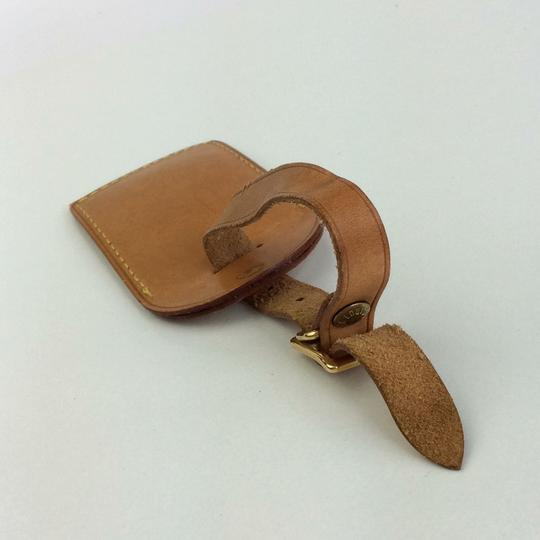 Louis Vuitton Alma Keepall Vachetta Luggage Name Tag Image 8