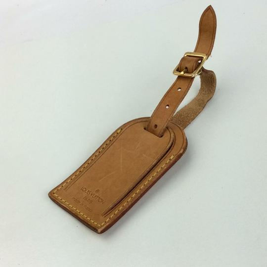 Louis Vuitton Alma Keepall Vachetta Luggage Name Tag Image 4