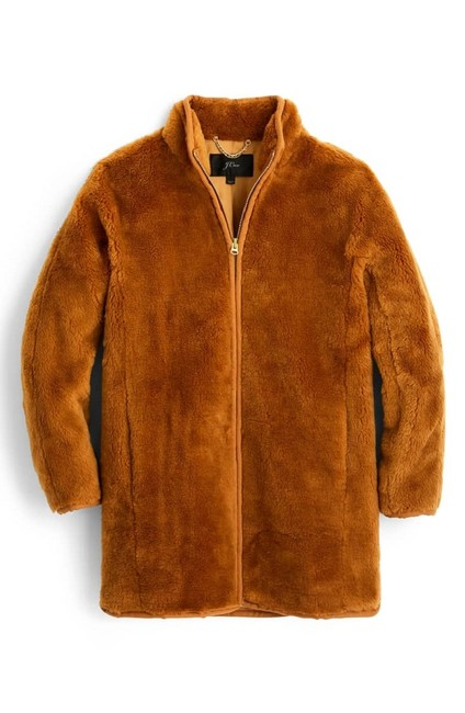 Preload https://img-static.tradesy.com/item/24637020/jcrew-warm-brandy-zip-up-teddy-coat-size-8-m-0-0-650-650.jpg
