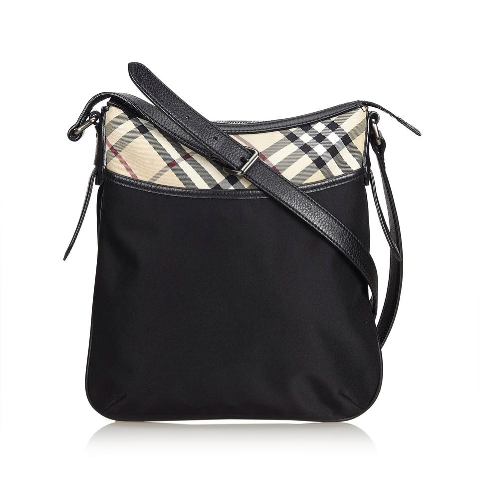 a1a84f384 Burberry Crossbody Black Nylon Shoulder Bag - Tradesy