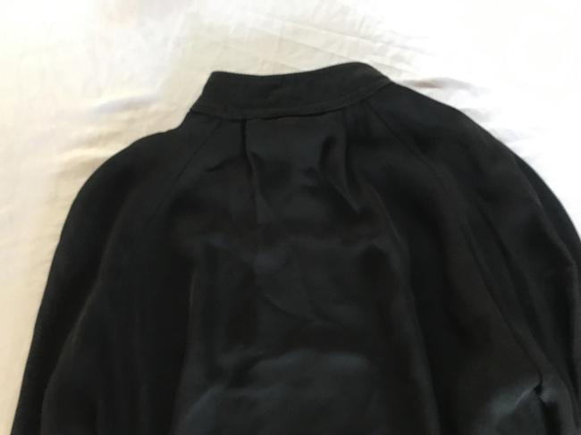 Juan Carlos Obando Silk Draped Top BLACK Image 1