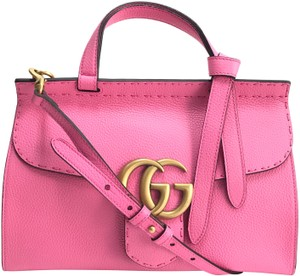 Gucci Satchel in tropical pink