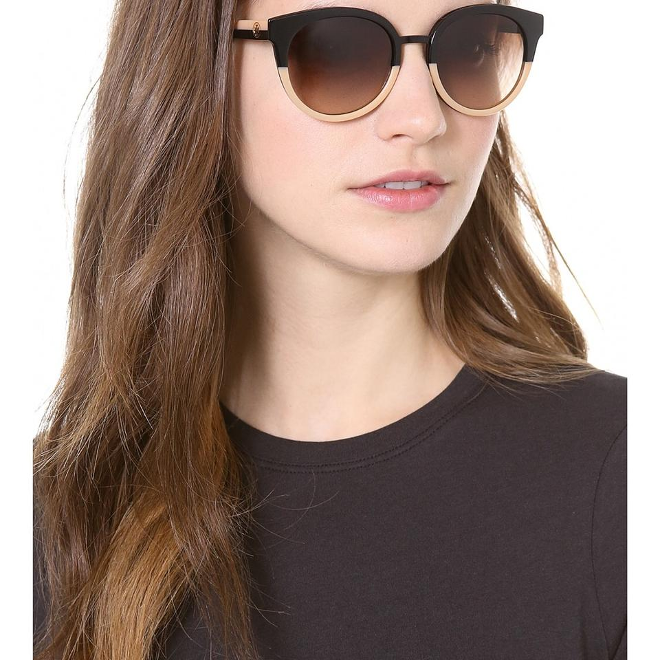 415281b2c0 Tory Burch eclectic two tone sunglasses Image 4. 12345