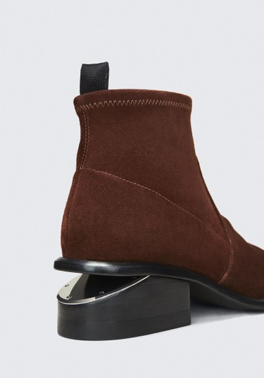 Alexander Wang Cut-out Suede Cranberry Boots