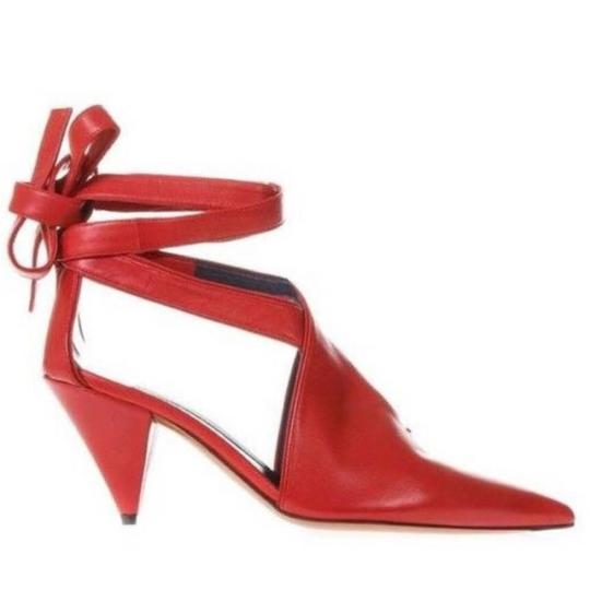 Preload https://img-static.tradesy.com/item/24638048/celine-red-new-ankle-strap-pumps-size-eu-39-approx-us-9-regular-m-b-0-0-540-540.jpg