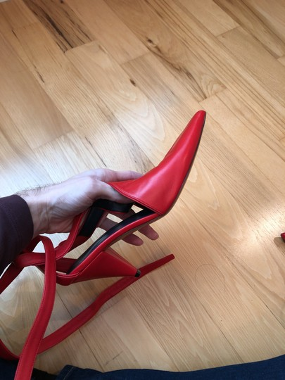 Céline red Pumps