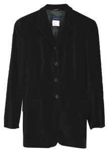 Piazza Sempione Fall Winter Holiday Velvet Night Out Green Blazer