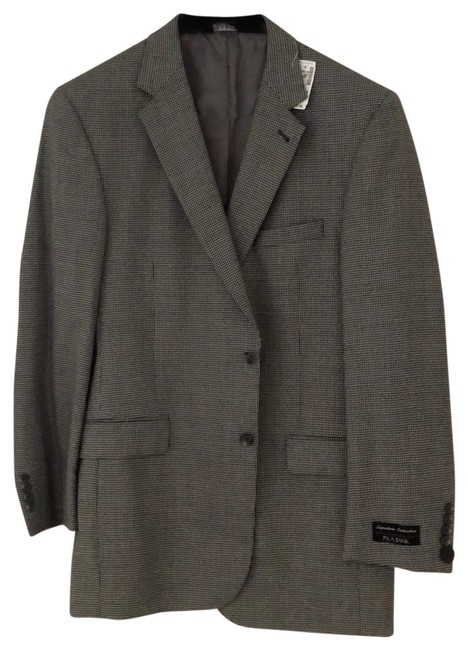 Item - Gray Signature Collection Sport Coat Pant Suit Size OS (one size)