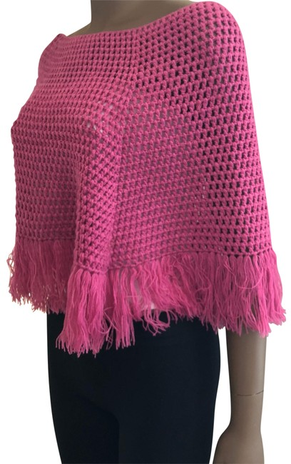 Item - Pink O Poncho/Cape Size OS (one size)