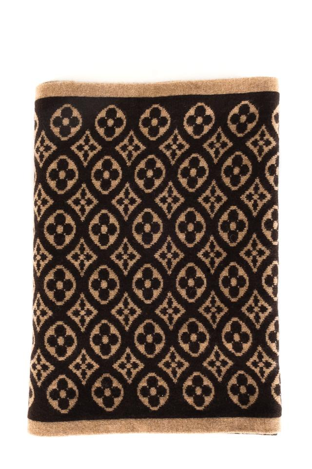 b57be63ac Louis Vuitton LOUIS VUITTON Brown Monogram Scarf Image 0 ...
