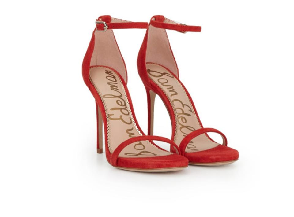 dc60bef18d19 Sam Edelman Red Ariella Sandals Size US 9.5 Regular (M