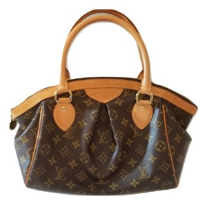 Louis Vuitton Speedy Tivoli Monogram Satchel in Brown